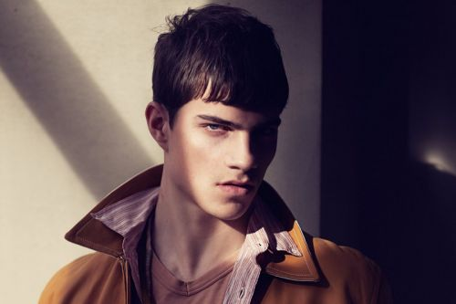 Daan Bach is a Versace fave who grew up in the Danish wilderness
