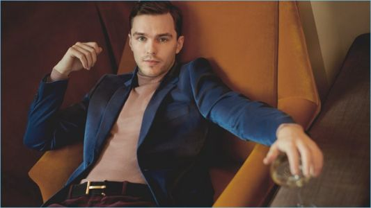 Nicholas Hoult Stars in Mr Porter Shoot, Talks Tom Ford