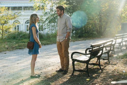 'Girls' star plays clueless, creepy ex in uneven rom-com