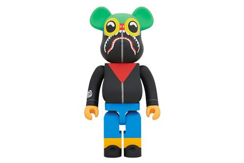 BAPE Teams up With Hebru Brantley & Social Status on a 1000% BE RBRICK