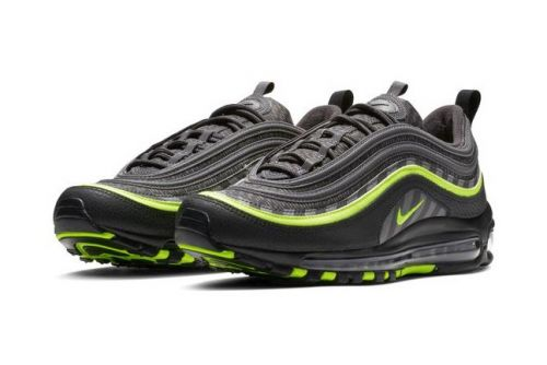 """Nike Energizes the Air Max 97 in """"Thunder Grey/Lime Blast"""""""