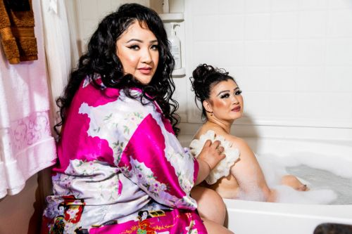 'sMothered' Season 2 trailer checks in with bath-sharing duo Sunhe and Angelica