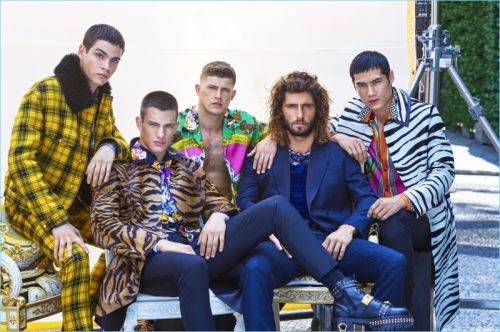 Hao Yun Xiang, Federico Spinas + More Don Versace for GQ China