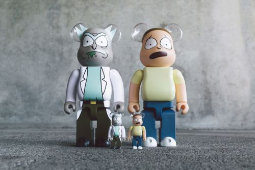 BAIT Debuts Exclusive 'Rick and Morty' BE RBRICK Collectibles
