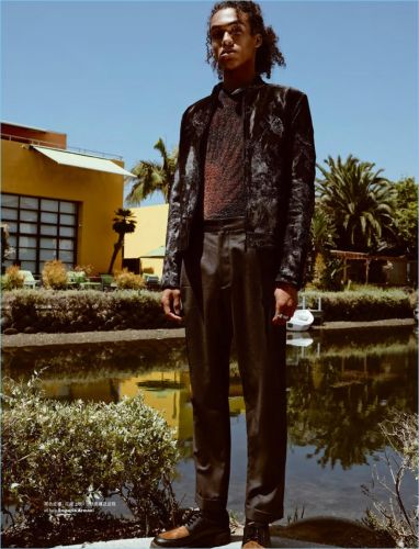 L.A. Confidential: Leo Hoyte-Egan for Elle Men Hong Kong