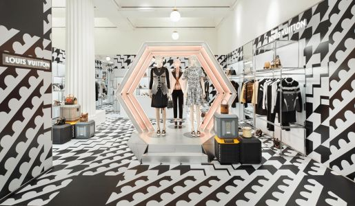 Louis Vuitton's Autumn/ Winter 2018 Pop Up At Selfridges