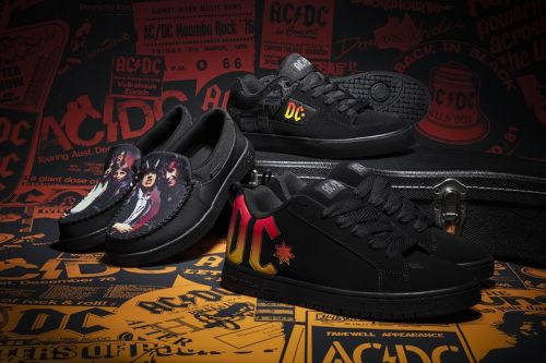 AC/DC and DC Shoes Celebrate the 40th Anniversary of 'Back In Black' With Hard-Rocking Capsule