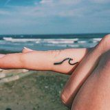 43 Beachy Tattoos That Will Make Your Summer Memory Last Forever