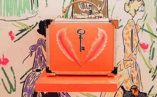 Aspinal of London unveils Giles Deacon collaboration