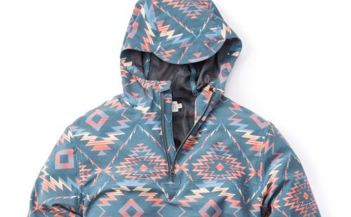 Faherty partners with Huckberry for poncho