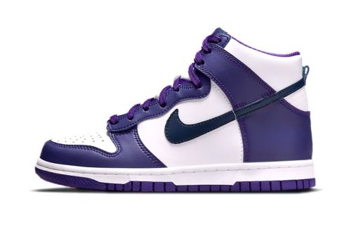 """Nike Binds Its Dunk High in a Navy and """"Court Purple"""" Colorway"""