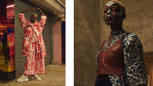 Shooting the hottest London designers at Peckham Levels
