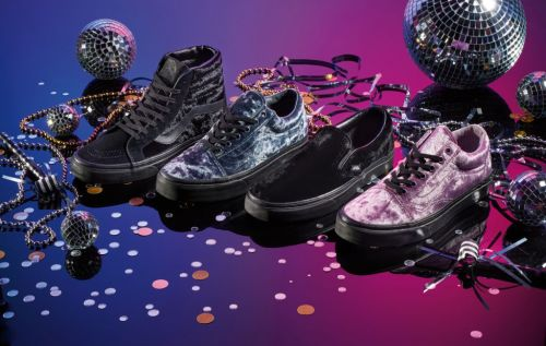 Vans have launched a brand new velvet collection and it's got us feeling festive