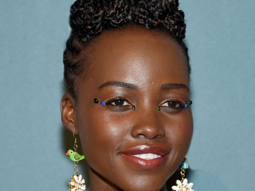 THIS Is How Lupita Nyong'o's Eye Rhinestones Stay On All Night