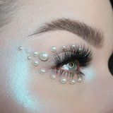Forget Plain Highlighter - People Are Now Putting Actual Pearls on Their Faces