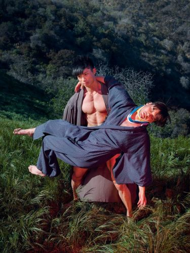Finding spiritual enlightenment with a bodybuilder in LA