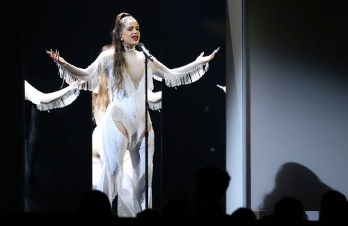 Rosalia's Killer Performance of Hit Single 'Malamente' Totally Rocked the 2020 Grammys