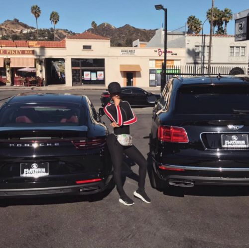 Teyana Taylor Gets Two New Cars