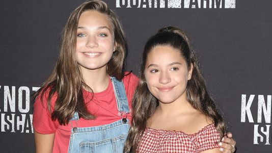 """Maddie Ziegler Tells Fans She Wants Her Sister Mackenzie's """"Juicy and Scrumptious"""" Lips"""