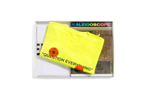 "Virgil Abloh & 'KALEIDOSCOPE' Unveil Their ""Collector's Edition"" Pack"