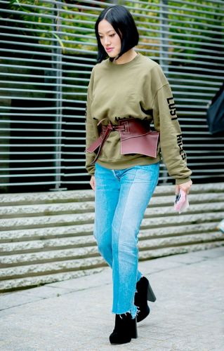 The Coolest Fall Styling Trick No Matter Your Body Type