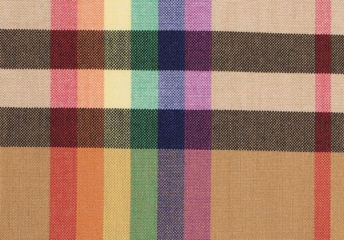 Christopher Bailey brings out a rainbow check for his last Burberry show