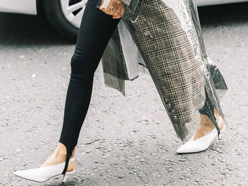 The Chic Legging Style You Can Wear to the Office