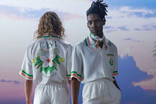 "Casablanca Celebrates Beauty With ""After the Rain Comes the Rainbow"" SS21 Collection"