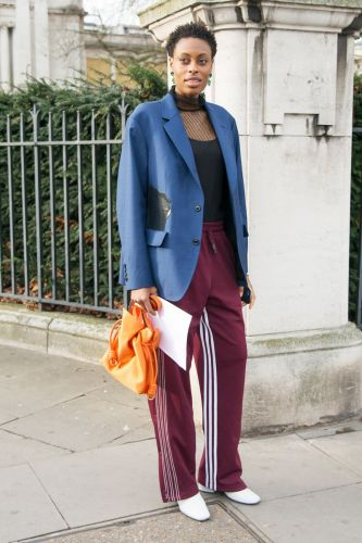 6 Fresh Ways to Style Joggers and Track Pants This Year