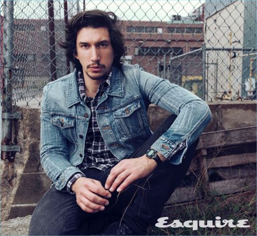 Adam Driver Covers Esquire, Talks Difficulty of Filming 'Star Wars'