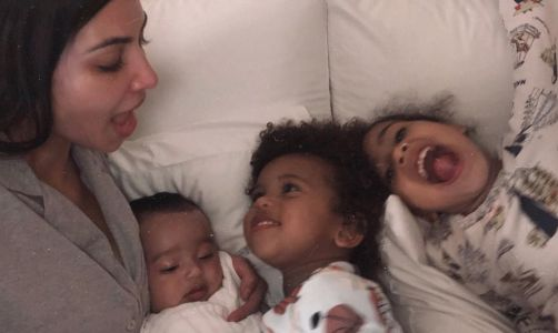 Kim Kardashian's Newest Video of Little Chicago Is Giving Us Some Serious ~Baby Fever~
