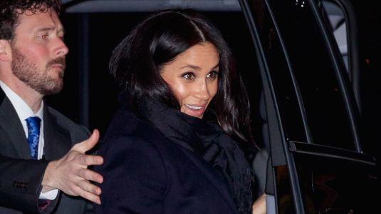 Meghan Markle Steps Out For a Night With Friends in NYC