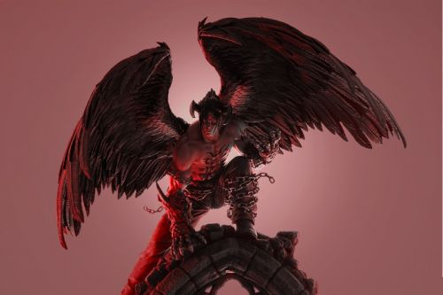 Pure Arts Releases Hand-Painted 'Devil Jin' Collectible Statue