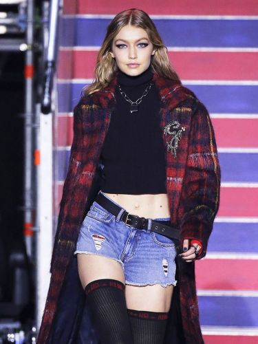See Gigi, Bella, and Anwar's Opening Looks for Tommy Hilfiger