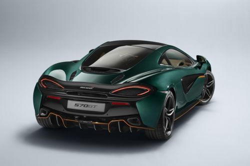 """McLaren's Special Operations 570GT Supercar Gets a Limited """"XP Green"""" Paint Job"""