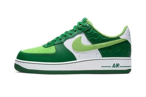 "Nike Unveils Air Force 1 and Air Max 90 ""St. Patrick's Day"" Colorways"