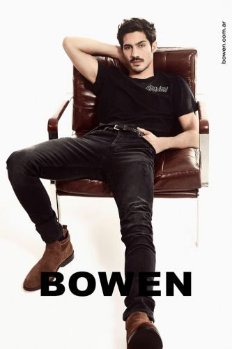 Chino Darín is Cool in Denim for Bowen Spring '20 Campaign