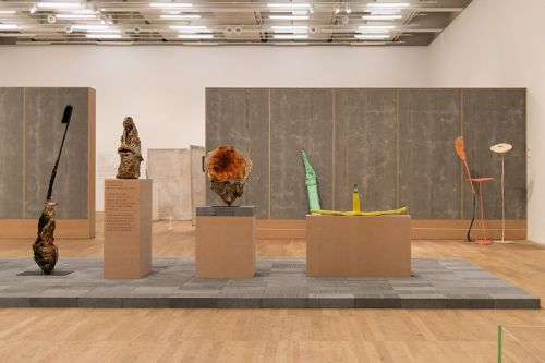 Tate Modern Brings Franz West's Interactive & Playful Sculptures to London