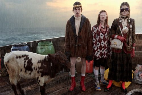 "Gucci Recreates Noah's Ark for ""Gucci Gothic"" Campaign"