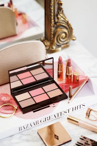 Charlotte Tilbury Glowing Pretty Skin Palette + Pretty Pink Lipstick Set Review