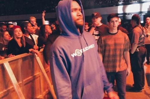 "Frank Ocean Releases A ""Worldnet"" Hoodie for Black Friday"