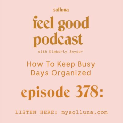 How To Keep Busy Days Organized