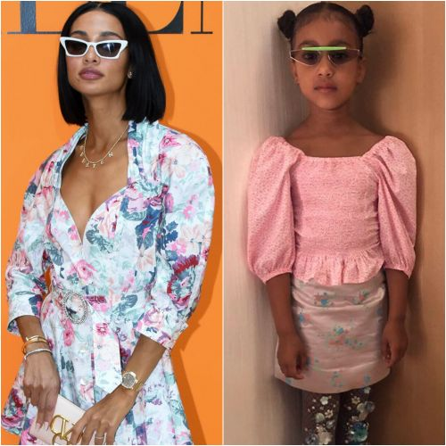 Kim Kardashian's BFF Kristen Noel Crawley Calls North West a Style 'Icon'