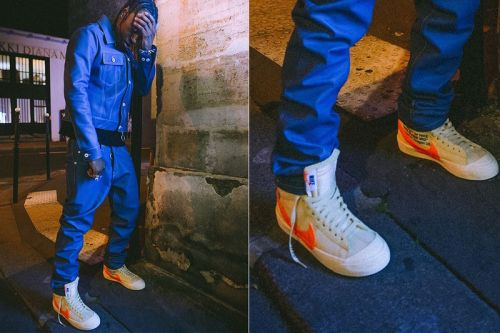 New Off-White™ x Nike Blazer Revealed at Paris Fashion Week