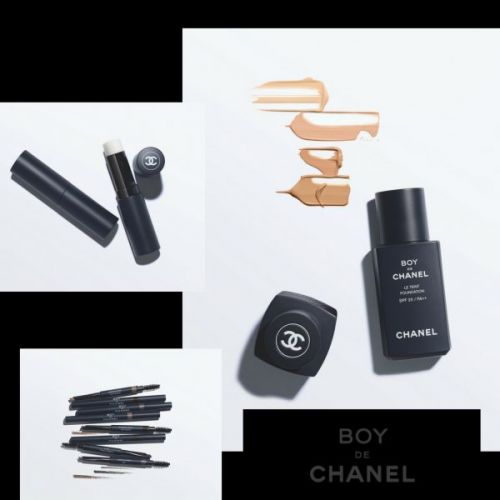 Chanel Launches a Make-Up Line for Men