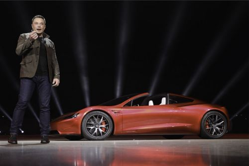 Elon Musk Teases That the Tesla Roadster May Be Able to Fly