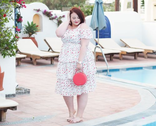 Style: A Tiered Summer Dress For Curvy Girls & My Newest Handbag Purchase