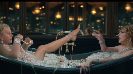 The New Taylor Is Ellen DeGeneres In 'Look What You Made Me Do' Spoof