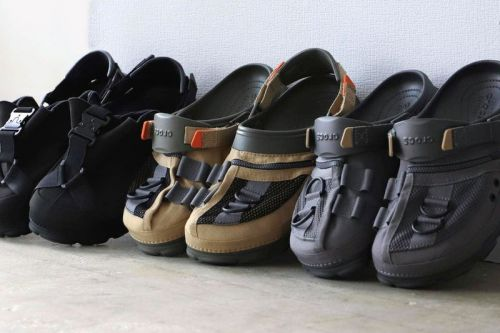 BEAMS Joins Crocs for Technical COBRA Buckle and Fishing Vest Clogs