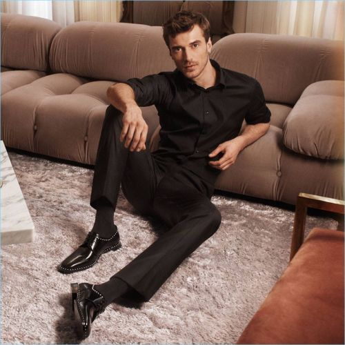 Clément Chabernaud Dons New Styles for Jimmy Choo Fall '18 Campaign